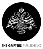 The Grifters Publishing Logo. Butique art book publisher. The Grifters