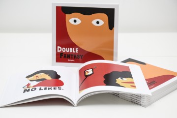 Double Fantasy - Book by Eewan - Russian Illustrator - The Grifters Publishing