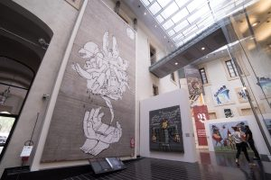 INFLVENCERES INTERVIEW CHRISTIAN OMODEO CURATOR EXHIBITION STREET ART BANKSY CO URBAN STATE OF ART THE GRIFTERS JOURNAL