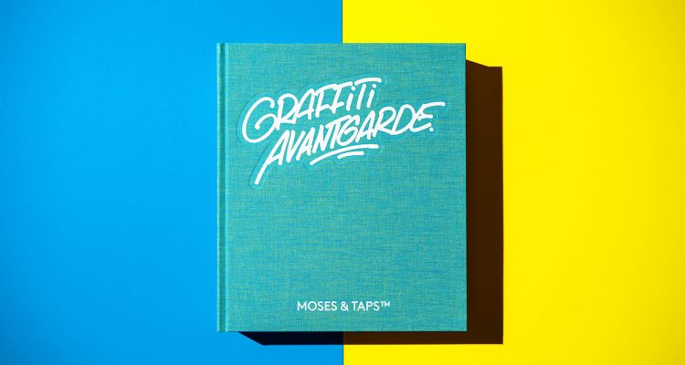 GRAFFITI AVANTGARDE MOSES AND TAPS BOOK THE GRIFTERS PUBLISHING COVER