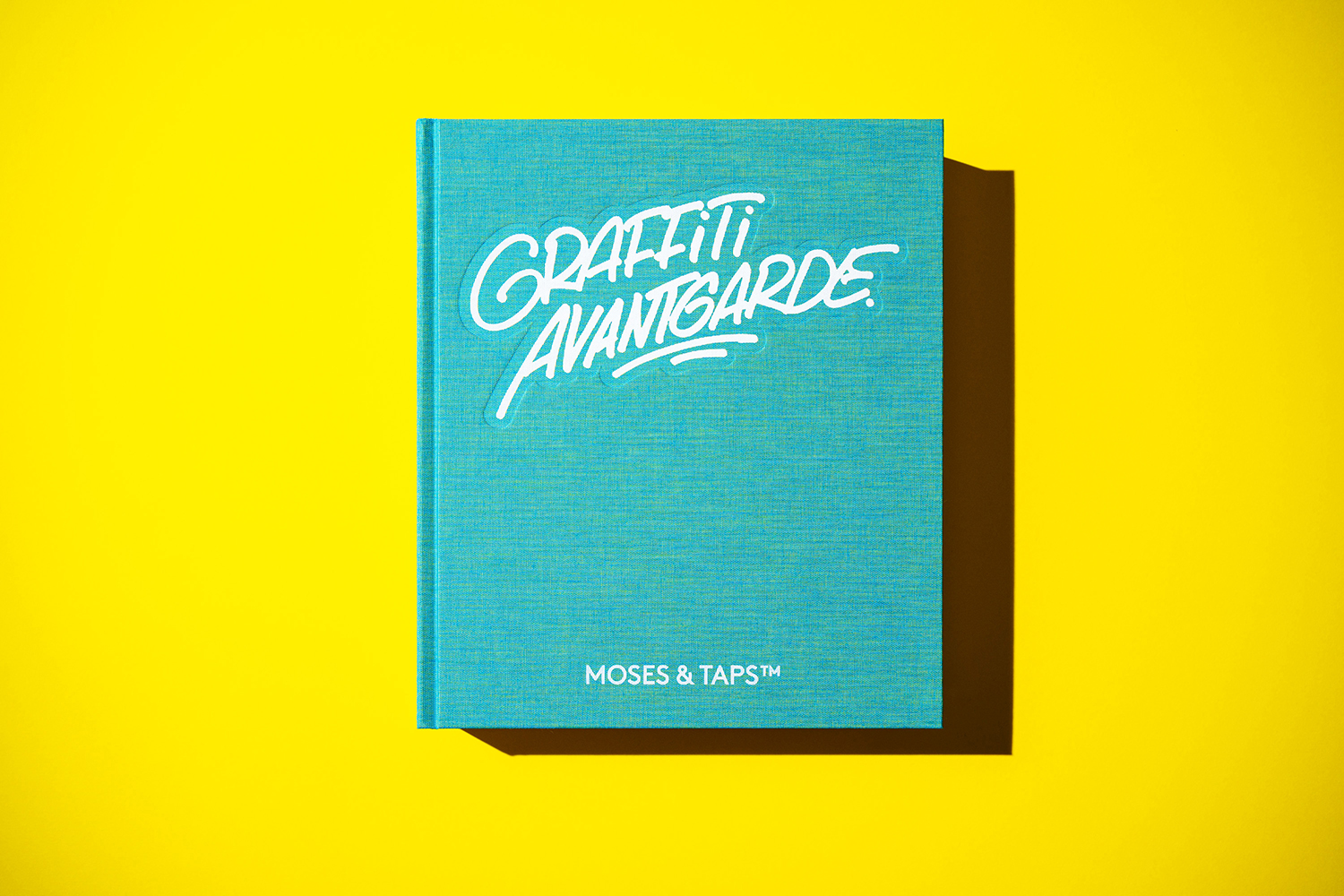 MOSES TAPS GRAFFITI AVANTGARDE BOOK SPLASH EDITION UNIQUE COLLECTOR PAINTED COVER PLASTIC SLIPCASE THE GRIFTERS